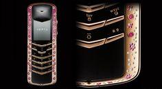 world most expensive phone in the world Vertu Signature Diamond