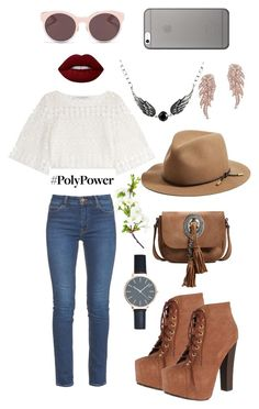 """Untitled #81"" by maarit-pollu ❤ liked on Polyvore featuring Yves Saint Laurent, rag & bone, Breckelle's, Philosophy di Lorenzo Serafini, M.i.h Jeans, Anne Sisteron, MBLife.com, Christian Dior, Lime Crime and Native Union"