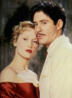 "Meryl Streep and Kevin Kline in ""Sophie's Choice"". Great - though sad- movie. Stunning performances all around."
