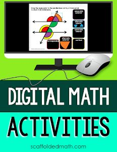 Scaffolded Math and Science: Remote Teaching Algebra Resources Algebra Activities, Teaching Math, Math Games, Classroom Activities, Teaching Ideas, Classroom Ideas, Google Math, 7th Grade Math, Ninth Grade