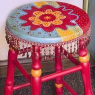 DecoArt - Project Tutorial and Inspiration Boho chic painted furniture.