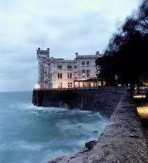 Miramar Castle in Trieste, Italy, my other's hometown.