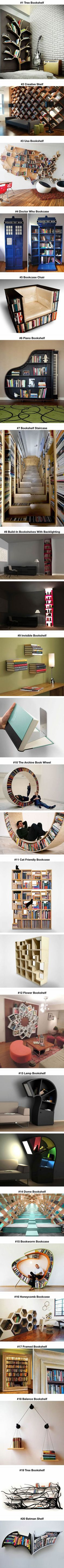 Probably The Most Creative Bookshelves Ever