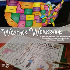 A NO PREP Year of Weather and Temperature Data Collection and Analysis - CCSS aligned