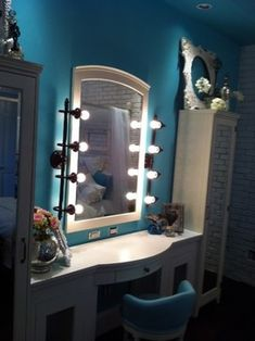 Girly Vintage Teen Bedroom - eclectic - bedroom - las vegas - The R.E. Design Team