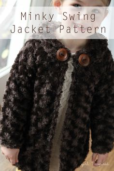Minky Swing Free Girls Jacket Pattern - girl. Inspired.