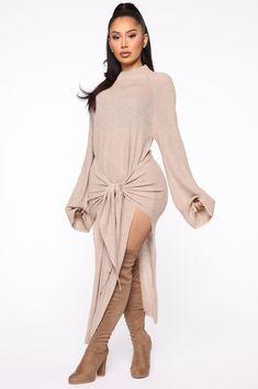 Rompers Women, Jumpsuits For Women, Long Sleeve Bandage Dress, Dress Long, Mocha Dress, Fashion Nova Models, Women Lingerie, Sweaters For Women, Fashion Dresses