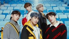 Have you guys heard of TXT? The K-pop group — full name: Tomorrow X Together — is BigHit Entertainment's latest boy band. And if BigHit sounds familiar to you, it's because it's the same amazing label that gifted us all with the seven musical… K Pop, Music Songs, Music Videos, Rapper, Dog Artist, The Dream, Lee Hyun, Eric Nam, Fandom