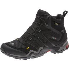 Adidas Terrex Fast X Mid GTX Carbon / Black / Light Scarlet - 1