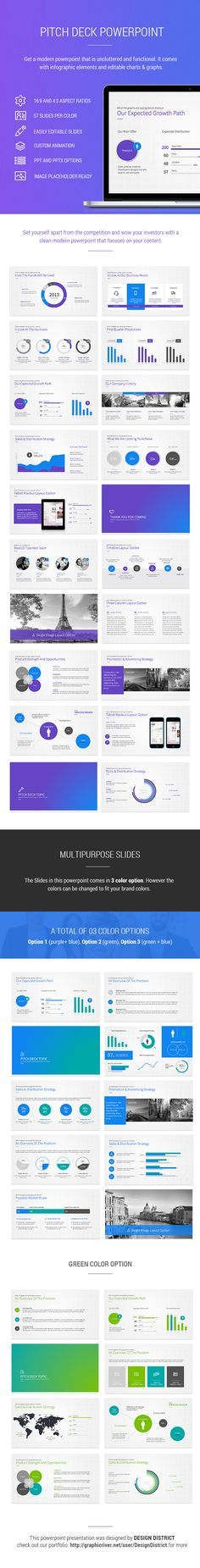 Pitch Deck Powerpoint on Behance