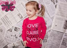 LOVE tee in pink! www.jumpinjacksplat.com