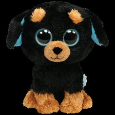 Beanie Boos little puppy his name is Tuffy! Ty Beanie Boos, Beanie Boos Names, Beanie Boo Dogs, Ty Boos, Rare Beanie Babies, Big Eyed Animals, Ty Animals, Ty Stuffed Animals, Rottweiler