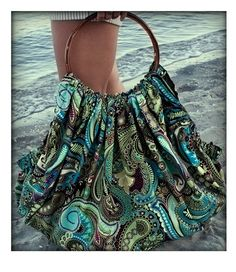beach bag already thinking of summer