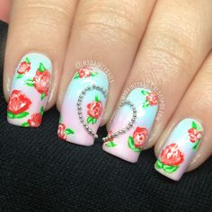Dainty Nails: Ombre Rose