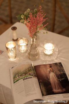 #Oui #magazine #fleurs #photophoremercurisé #mariage #pretty #wedding @Pretty Wedding