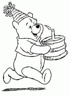 Winnie Pooh 14 Ausmalbilder