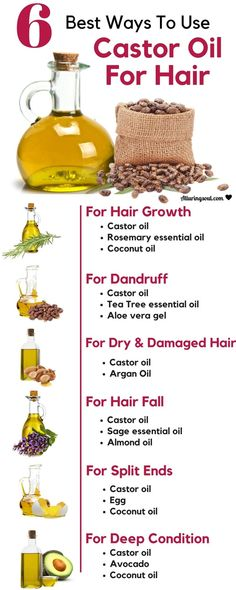 All you need is castor oil for hair. It nourishes hair roots, promotes hair growth, deep conditions hair and solves many other problems. Check it out, how can it help you. #haircareoil,