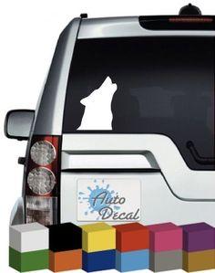 3M Graphics Moon Night Wolf Vinyl Helmet Car Window Wall Laptop Sticker Decal