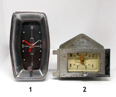 Your Choice Vintage Automobile Car Clocks One Unmarked One FoMoCo Ford Parts DECOR Price Of Stamps, Wood Nursery, Ford Parts, Bold Prints, Vintage Cars, Clocks, I Shop, Automobile, Steampunk