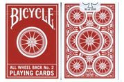 Bicycle Wheel Back #2 Playing Cards.  A.B.