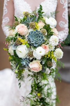 A Winter Fairytale Wedding at Red Rocks Park #winterweddingbouquet #winterweddingideas #redrockswedding #succulentweddingbouquet #succulentweddingdecor Winter Wedding Flowers, Rustic Wedding Flowers, Floral Wedding, Inspiration Boards, Wedding Inspiration, Wedding Ideas, Bride Bouquets, Bridesmaid Bouquet, Fairytale Weddings