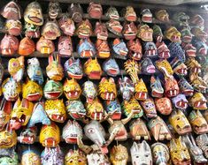 Máscaras, artesanía típica guatemalteca!