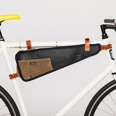 Net Bike Bag - Brown by The Beebe Company | MONOQI