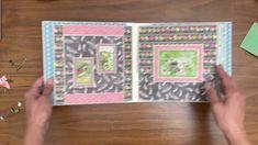 Mini Album Tutorial, Graphic 45, Mini Albums, The Creator, Tutorials, Scrapbook, Bird, Youtube, Ideas
