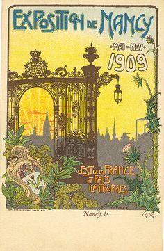 Bienvenue à l'Exposition de Nancy, 1909