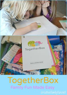 TogetherBox Review: Family Fun in a Box ~ Creative Family Fun