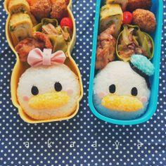 Donald and Daisy onigiri