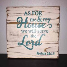 As For Me & My House Sign Joshua 24:15 - Mercari: Anyone can buy & sell