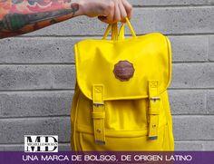 Michelle Duran una marca de bolsos,  de origen latino #Bolsos #Moda #Amarillo #Moda #TiendasOnline