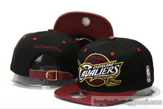 NBA Cleveland Cavaliers Mitchell & Ness Strapback Hats Black Wine 2|only US$6.00 - follow me to pick up couopons.