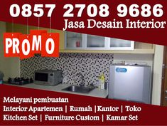 Apartment Interior Design, Kitchen Interior, Kitchen Design, Jakarta, Design Set, Studio Green, My Furniture, Kitchen Sets, Fisher Price