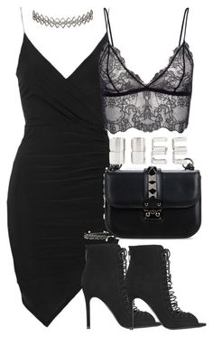 """""""Untitled #2332"""" by theeuropeancloset on Polyvore featuring Topshop, Kendall + Kylie, Valentino, Assya London and Forever 21"""