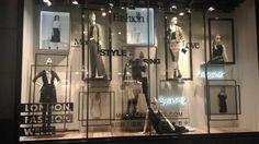 Miss Selfridge window display 2015 London Fashion Week