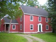 Classic saltbox and the best floorplan I've ever seen.