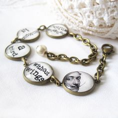 Salvador Dali Quote Antique Brass Bracelet by byElena on Etsy https://www.etsy.com/listing/170864735/salvador-dali-quote-antique-brass