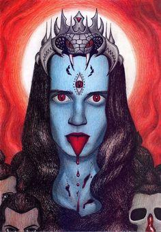Kali by lizard-mantidae