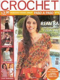 CROCHET PASO A PASO Nro.6 - 2006 - Jimena Rodriguez - Álbuns da web do Picasa