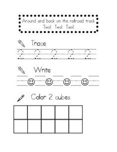 Number Writing Practice Books