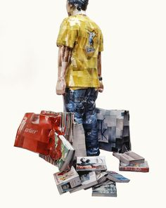 photo-sculptures by Gwon Osang#photographic sculpture