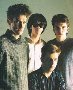 The Smiths (1984) ― via https://braceneckboy.wordpress.com/2010/10/19/bands-of-the-eighties-melody-maker/