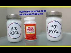 COMO HACER MOD PODGE HECHO EN CASA CON BOTE RECICLADO - YouTube