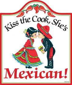 Ceramic Cheeseboard: Mexican Cook - DutchNovelties  - 1