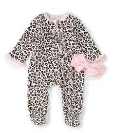 Shop for Mud Pie Baby Girls Months Long-Sleeve Leopard-Printed Footed Coverall at Dillard's. Visit Dillard's to find clothing, accessories, shoes, cosmetics & more. The Style of Your Life. Winter Baby Clothes, Winter Outfits For Girls, Baby Girl Winter, Trendy Baby Clothes, Kids Outfits, Luxury Baby Clothes, Kids Clothes Boys, Newborn Girl Outfits, Cute Baby Girl Outfits