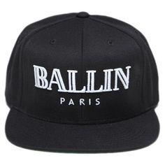 ALEX & CHLOE Ballin Paris Snapback Hat