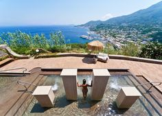 Seven nights at a five-star hilltop getaway, with incredible views, half board, all travel and more...5* indulgent Ischia holiday San Montano Resort & Spa, Italy
