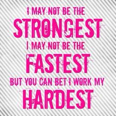 I get teased that I'm not strong or fast. I try my hardest. You shouldn't judge if people are slow or they are not fast. People have different speeds. Like or repin if you agree
